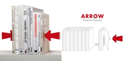 Magnetic-Bookends-Arrow